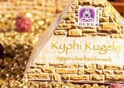 Kyphi - Räucherwerk der Pharaonen