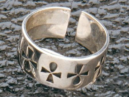 Ankh-Ring Silber