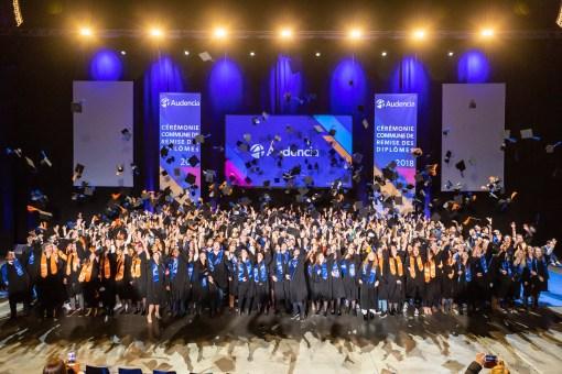 Cérémonie de remise de diplômes Audencia