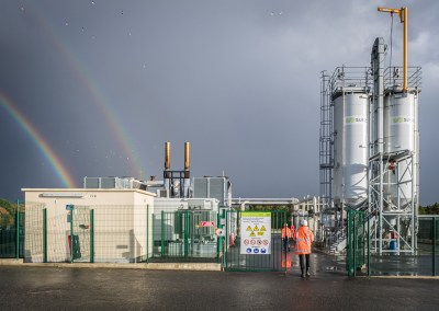 Reportage photo SUEZ | Usine Bio énergie de Sonzay