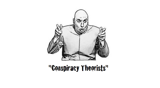 Conspiracy Theorists  by Jolly Roger
