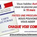 Procuration Auriol Ensemble 2020