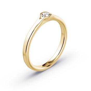Damen Ring Solitarring Diana Ehering Mit Swarowski Heiratsantrag