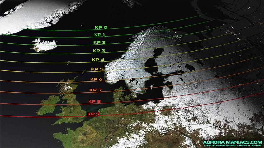 Kp Index Amp Observation Des Aurores Aurora Maniacs