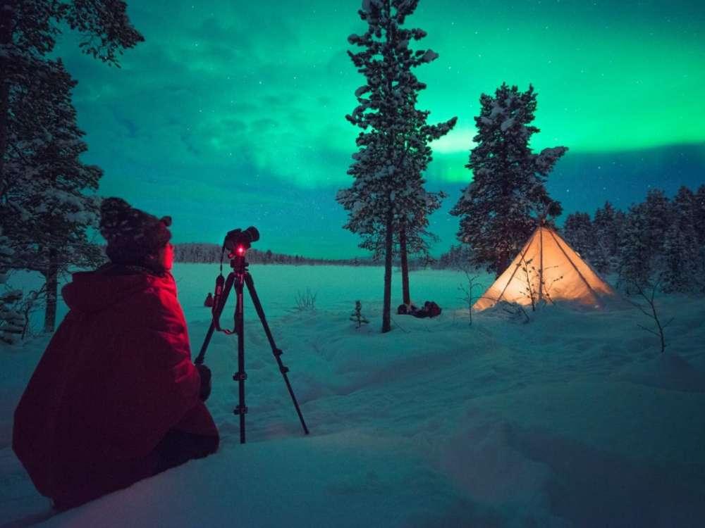 Kiruna Sweden Northern Lights
