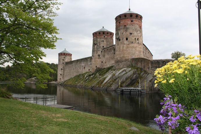 Castello di Olavinlinna a Savonlinna
