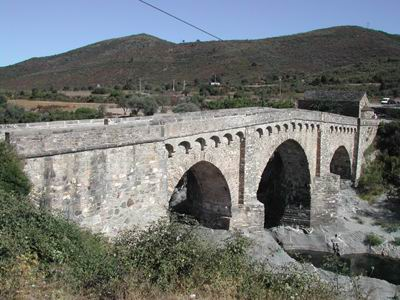 Ponte romano sul Tavignano