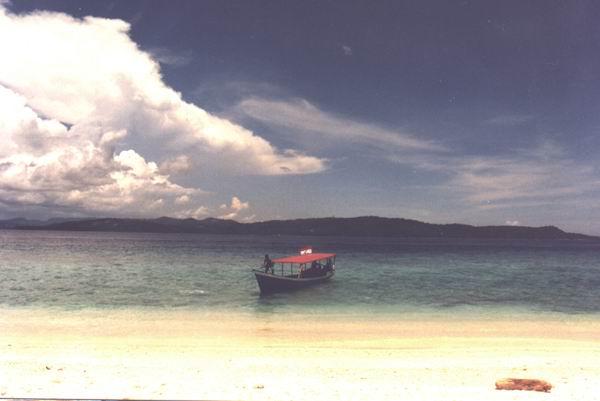 Dall'isola di Lihaga