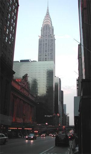 Chrysler Building e Grand Central Station