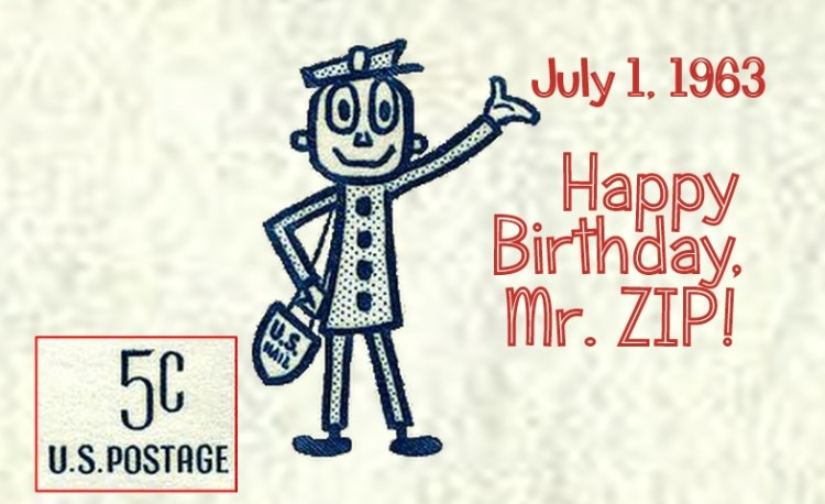 Happy Birthday Mr. ZIP - 57 years Old