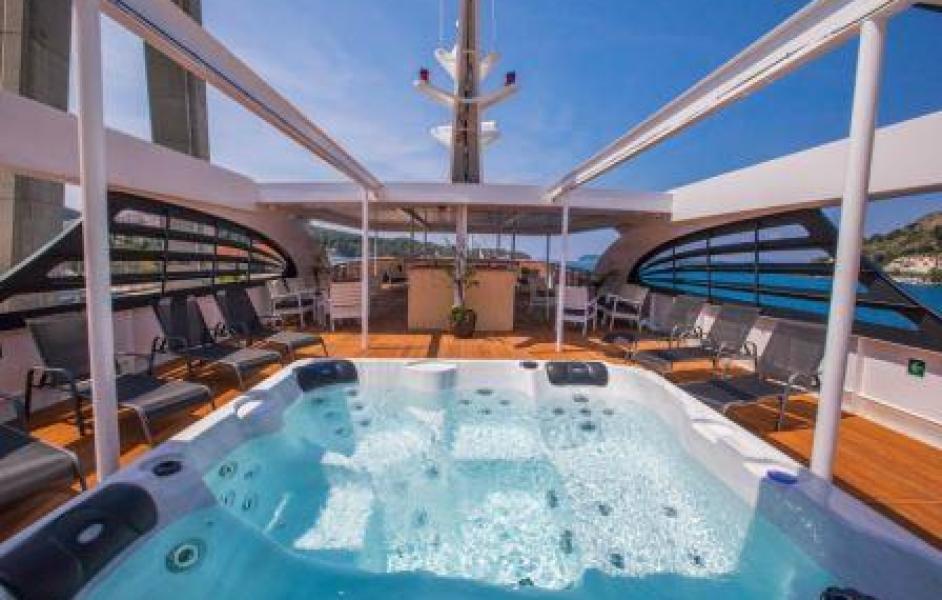 one way cruise croatia deck