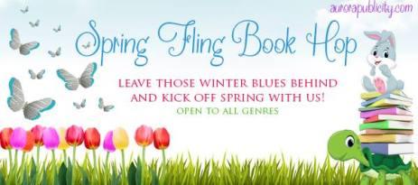Spring Fling Book Hop Graphic
