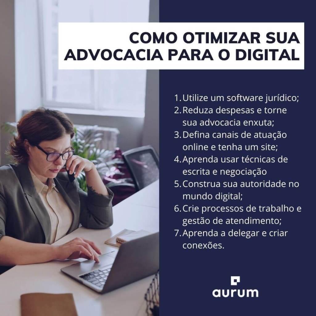 Dicas de como otimizar sua advocacia para o digital