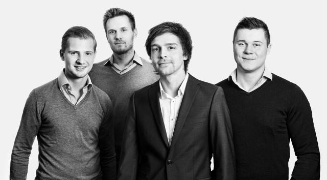 Das Gründerteam von MYLOMA (v.l.n.r.): Antoine Henrich (22), Clemens Dall (27), Dario Blaul (31), Maximilian Schulz (22)