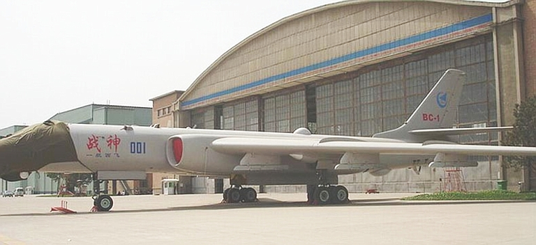 Image result for Xian H-6 bombers, photos