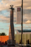 Denkmal im Stadtzentrum