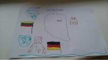Zeichenarbeiten von Kindern aus der Kita Varpelis Glocke