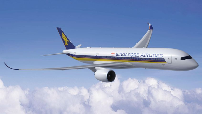 Singapore Airlines' first Airbus A350 to fly January 2016