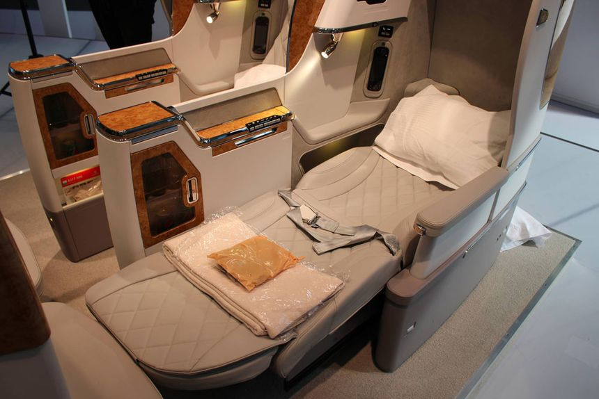 Finally, a fully flat bed for Emirates' Boeing 777s