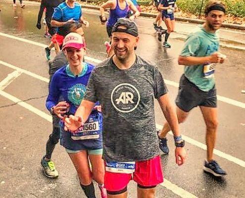 New York City Marathon, Central Park