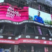 New-York-City Marathon, PreRece-Tage 2017, Time Square
