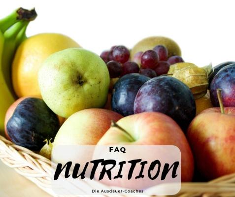 Ernährungspyramide, Fragen zur Ernährung für Triathletinnen und Triathleten, Läuferinnen und Läufer