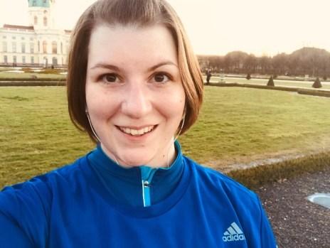 Gastbeitrag - Elvira Ernst - Läuferin auf bei einer ihrer Laufrunden