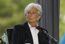 On June 28, 2011, Christine Lagarde was named Managing Director of the IMF, replacing Dominique Strauss-Kahn.