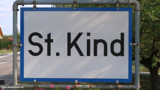 St. Kind in der Steiermark - lustige Ortsschilder Österreich