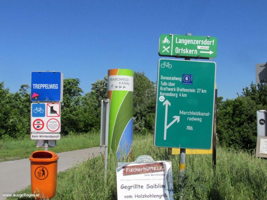 Donauradweg Marchfeldkanalradweg