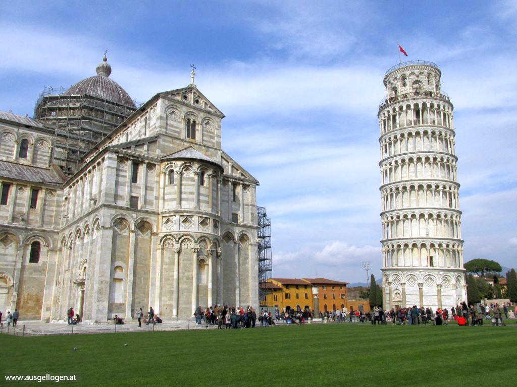 schiefer Turm von Pisa Urlaubsideen Kinder