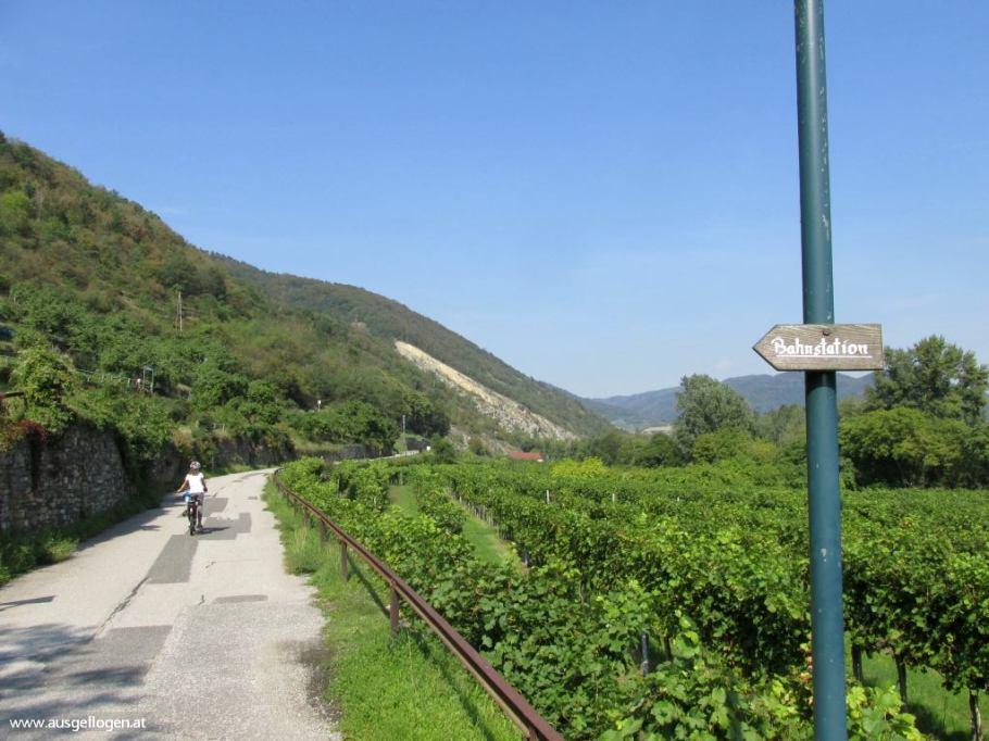 Wachaubahn Wachau Radweg