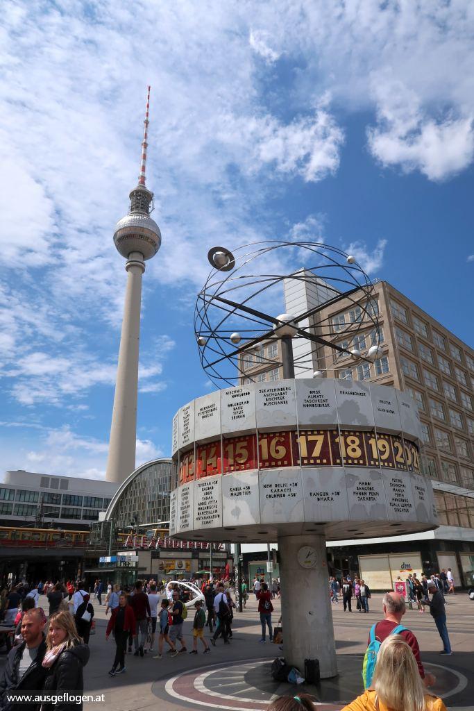 Berlin Alexanderplatz Urlaubsideen Kinder