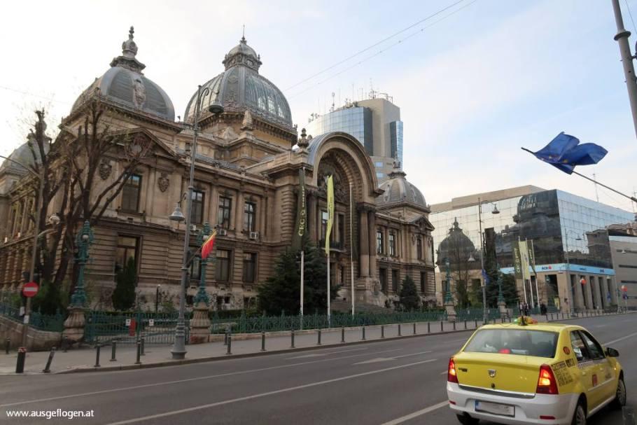 CEC-Bank Bukarest Sehenswürdigkeiten