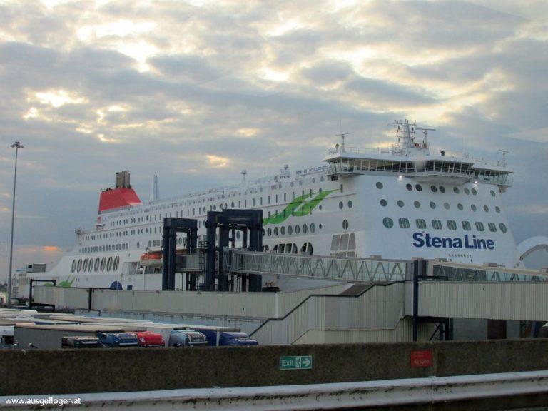 Stena Line Fähre Interrail Nordeuropa