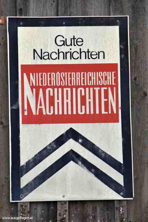 NÖN Schild Österreich
