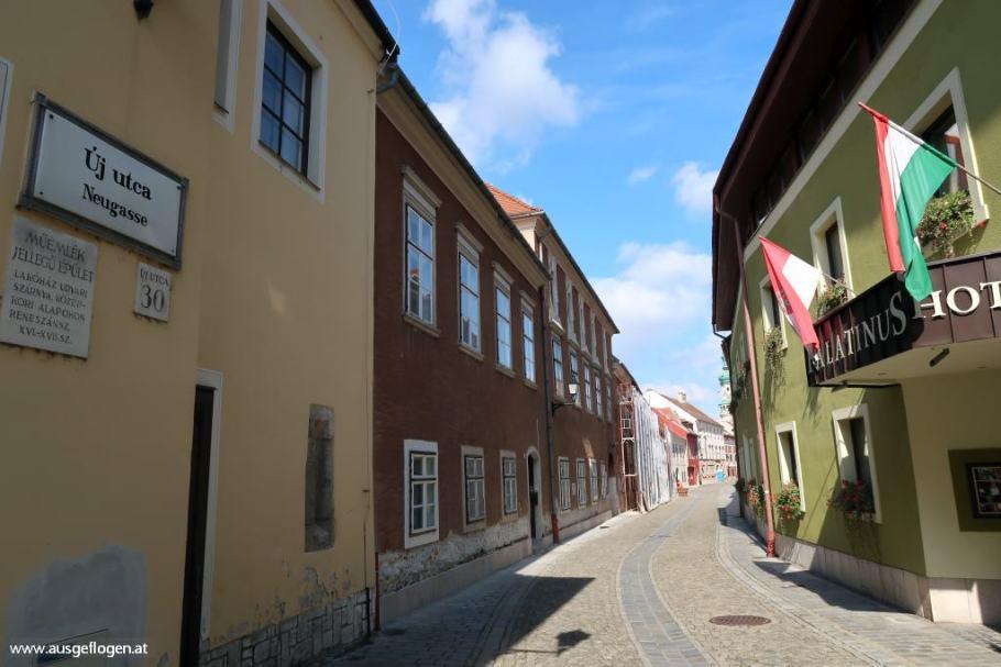 Sopron deutsche Spuren