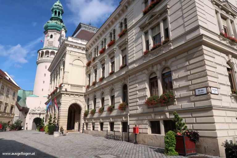 Sopron Hauptplatz Fö tér