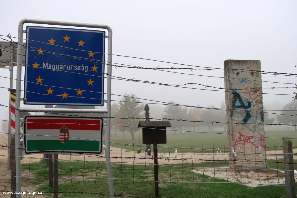 Grenzübergang St. Margarethen Paneuropäisches Picknick