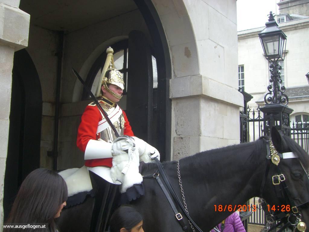 London Horse Guards Urlaubsideen Kinder