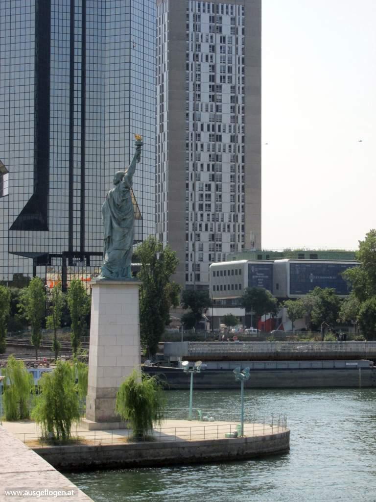 Paris Freiheitsstatue Interrail Nordeuropa