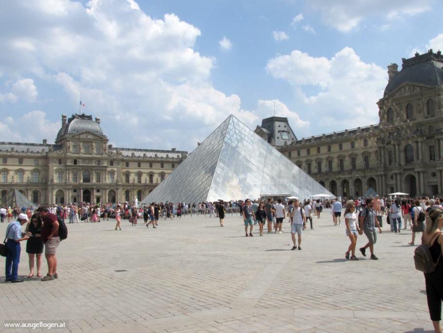 Paris Louvre Interrail Nordeuropa