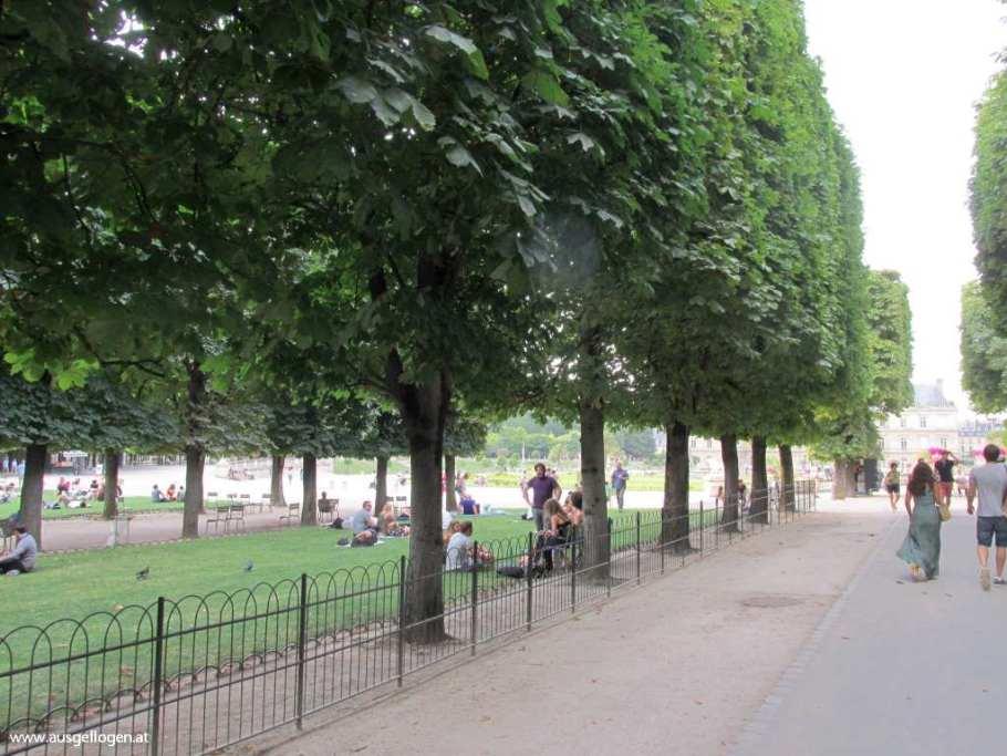 Paris Tuileriengarten