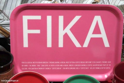 Stockholm Wochenende Fika
