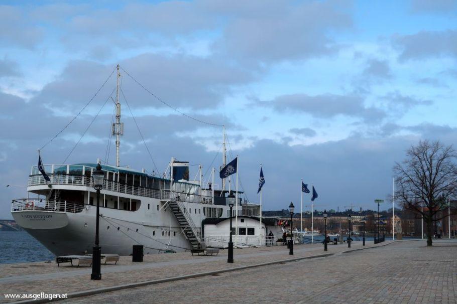 Stockholm Yacht übernachten Mälardrottningen