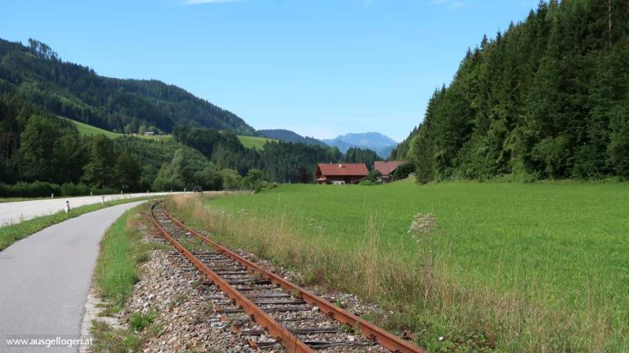 Ötscherland Express Schienen