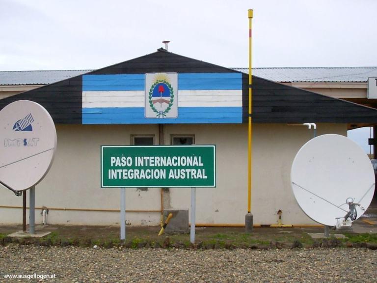 Grenze Argentinien Chile