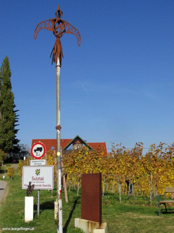 Grenze Ratsch an der Weinstraße Slowenien
