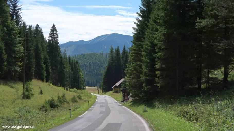 Traisentalradweg Anstieg Gscheid
