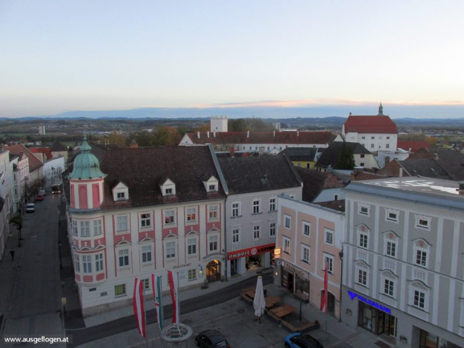Stadtturm Enns Aussicht
